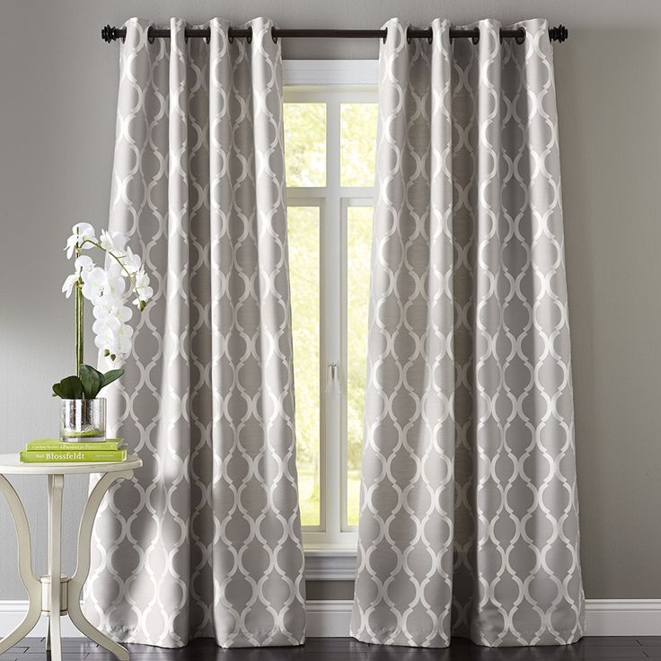 Choosing New Curtains Should You Choose A Pattern Or Plain Impressive Pattern Curtains